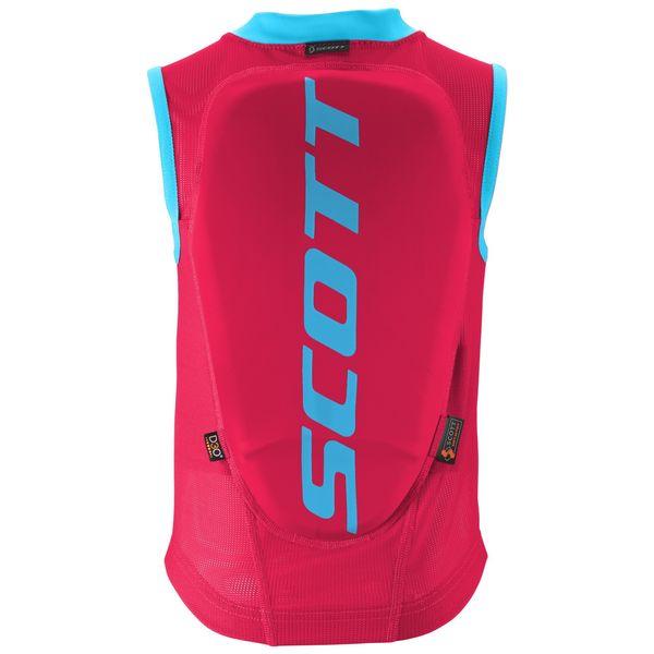 Scott Vest Protector Actifit berry pink/bermuda blue
