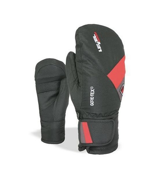 Level Force JR Mitten Gore-Tex N P red