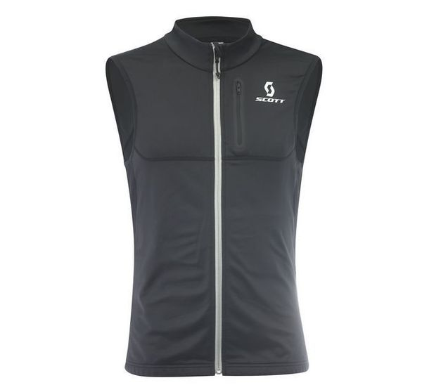 Scott Thermal Vest Actifit Plus black/ruby red