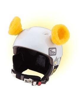 Crazy Uši na helmu ouška žlutá žlutá