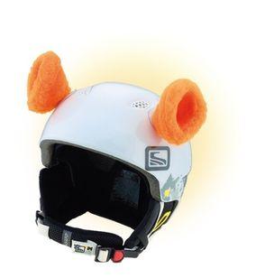 Crazy Uši na helmu ouška oranžová oranžová