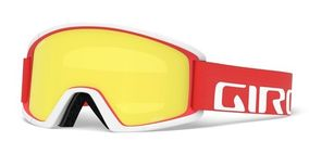 Giro Semi red/white apex Amber Scarlet/Yellow