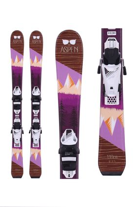 ASPEN SKIS Mountain Girl