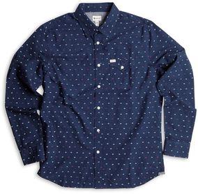 MATIX košile MOORE WOVEN TOP blue