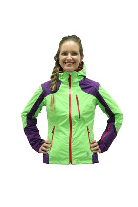 Blizzard Viva Power Ski Jacket purple/lime