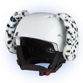Crazy Uši na helmu dalmatin sz černo-bílá