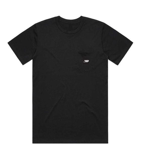 SANTA CRUZ triko PATCH POCKET black