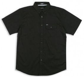 MATIX košile ELI POPLIN WOVEN TOP S/S black