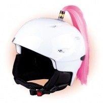 Crazy Uši na helmu cop růžový