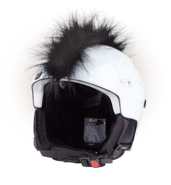 Crazy Uši na helmu číro černé