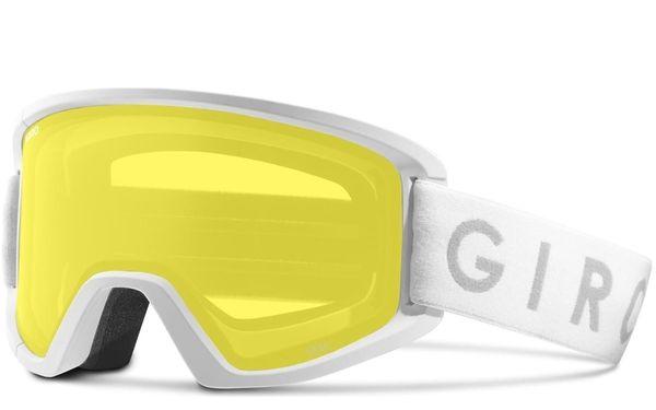 Giro Semi white core amber scarlet/yellow