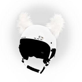 Crazy Uši na helmu yeti sz bílý