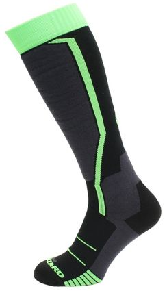 Blizzard Allround Ski Socks black/anthracite/green