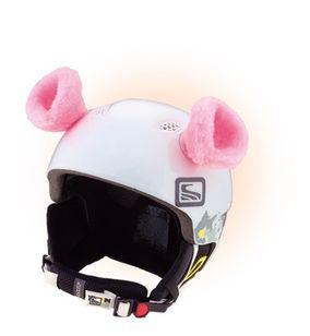 Crazy Uši na helmu ouška růžová růžová