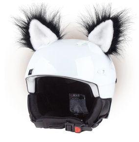 Crazy Uši na helmu kočka černá sz