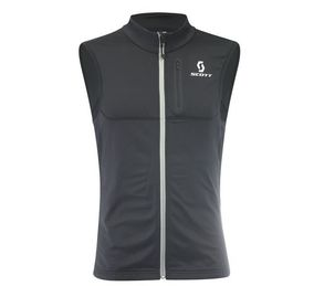 Scott Thermal Vest Actifit Plus black/ruby red