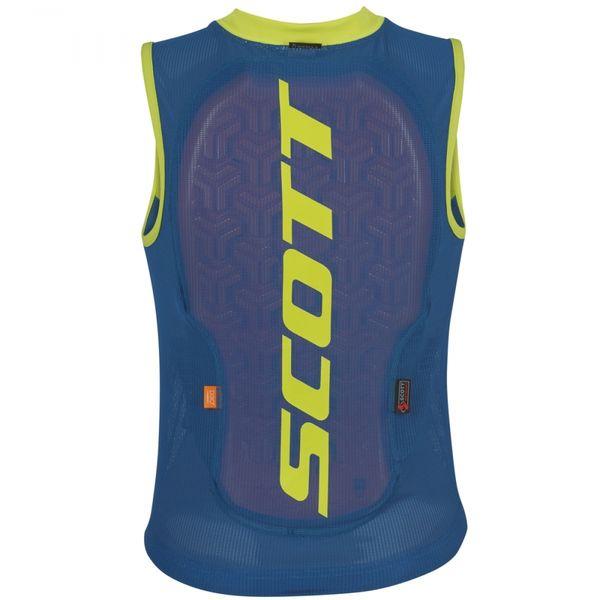 Scott Vest Protector Actifit Plus mykonos blue/sulphur yellow dětské/juniorské...