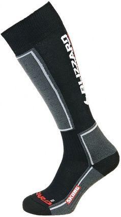 Blizzard Skiing Ski Socks black/grey pánské/unisex