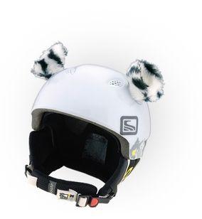 Crazy Uši na helmu tygřík bílý bílá
