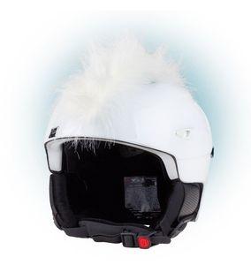Crazy Uši na helmu číro bílé bílá
