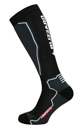 Blizzard Compress 85 Ski Socks black/grey