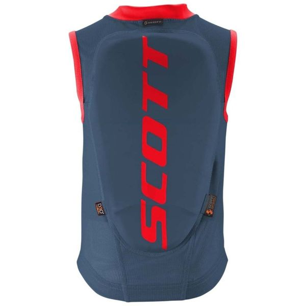 Scott Vest Protector Actifit eclipse blue/burnt red