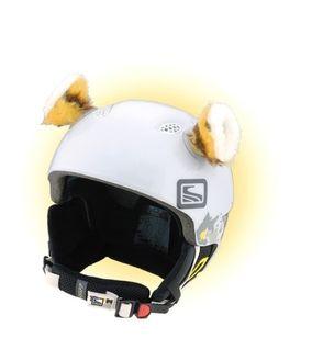 Crazy Uši na helmu tygřík oranžovo-černá