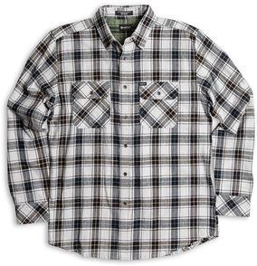 MATIX košile BANSHEE FLANNEL grey