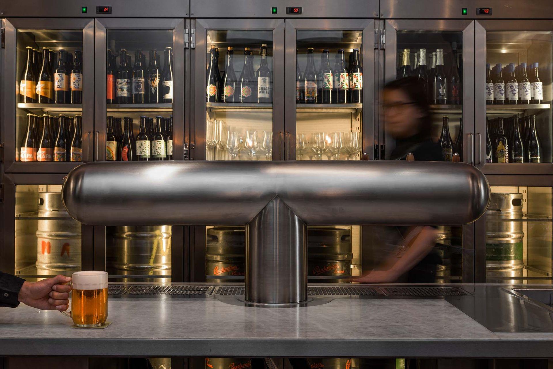 Pivní bar Pult najdete v ulici Na Celnici kousek od náměstí Republiky.