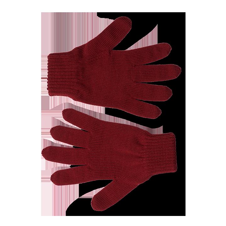 Vlnené Rukavice Merino Red