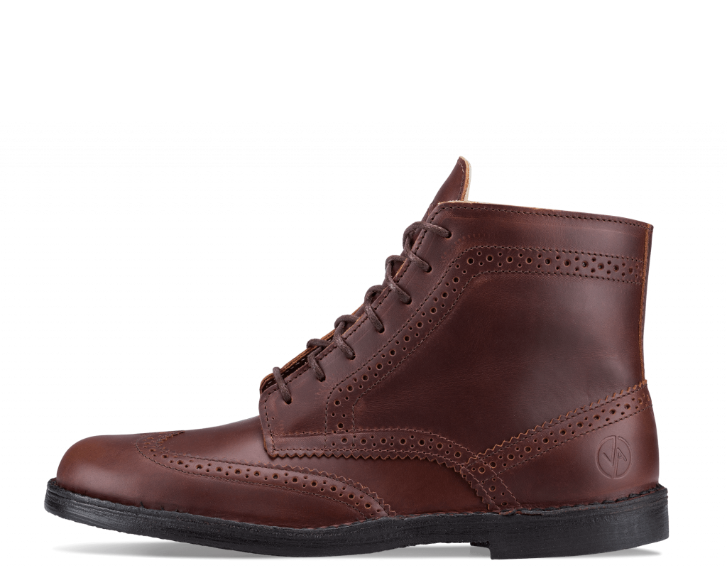 Brogue High Dark Brown