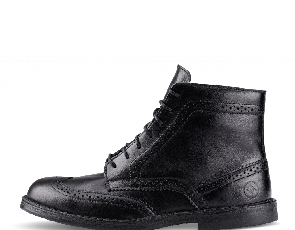 Brogue High Black