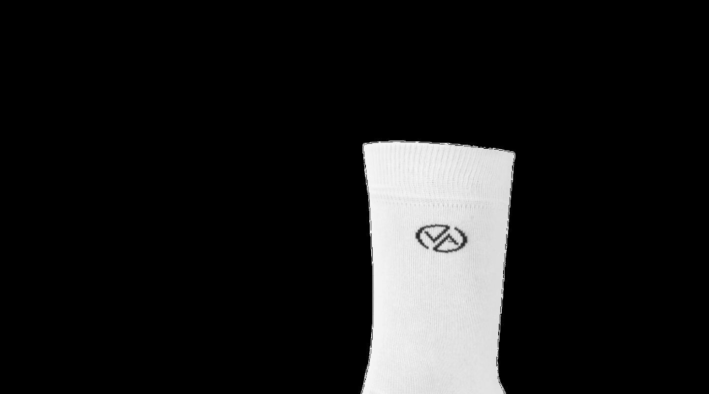 Ponožky vysoké White