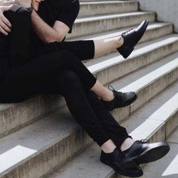Brogue Low Noir