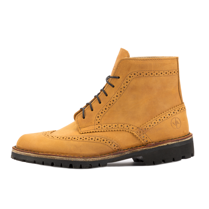 Brogue High Caramel